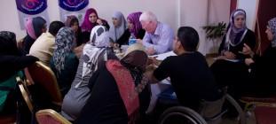INCLUDE- empowerment socio economico delle donne con disabilità nella Striscia di Gaza – 2013