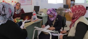 WE WORK: inclusione socio-economica delle Donne con Disabilità nella Striscia di Gaza – 2016
