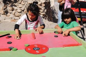 Places and Spaces: supporto socio-educativo per bambini e giovani a Gerusalemme Est, nei Campi Profughi di Shufat, Qalandia, Aida, Al'Azza – 2010
