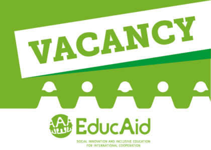VACANCY (EXTENDED): Project Manager esperto in attività educative per coordinamento programma in El Salvador