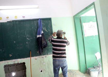 Riqualificazione di una scuola a Khan Younis, Striscia di Gaza, per Emergenza Covid-19