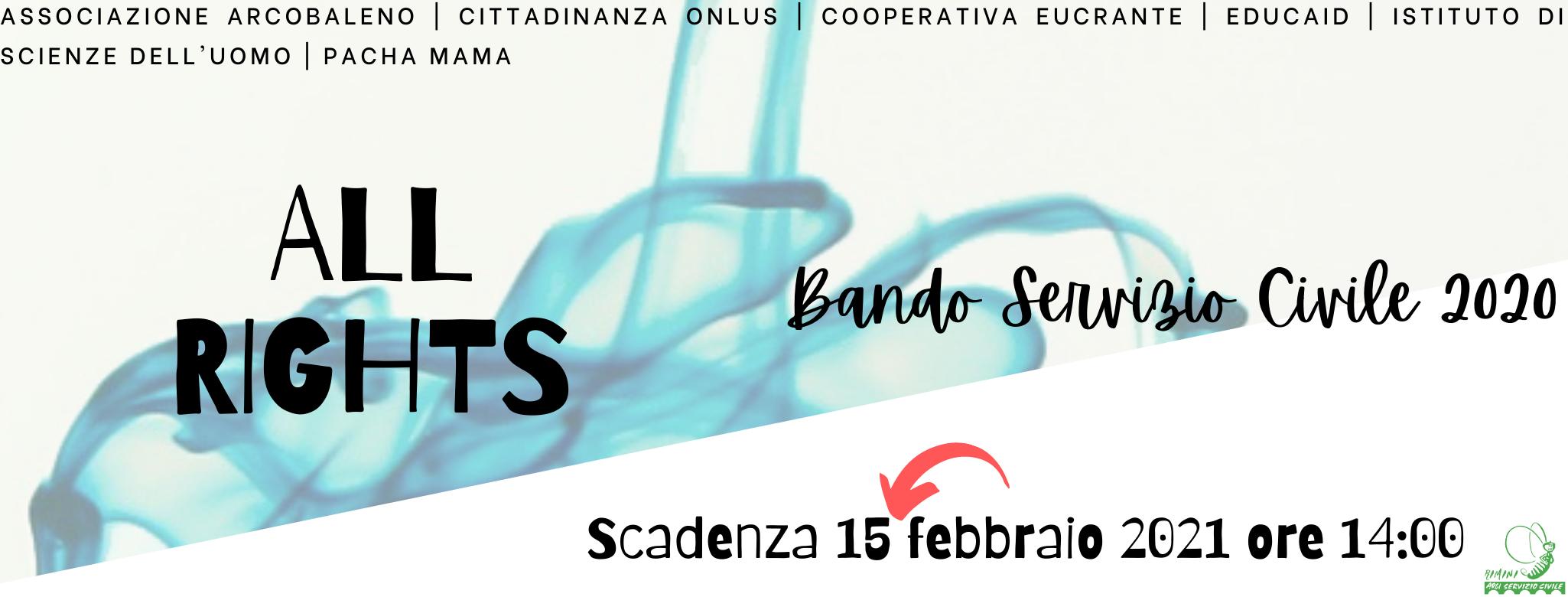 All Rights - Bando Servizio Civile